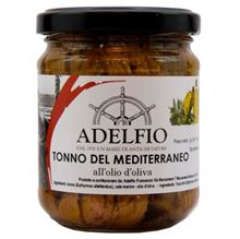 Picture of adelfio mediterranean tuna in olive oil gr 200