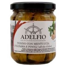 Picture of adelfio mint, raisin, pine nut tuna gr 200
