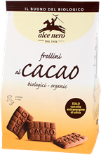 Picture of alce nero cocoa biscuits bio gr 350