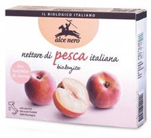 Picture of alce nero peach nectar bio in brik ml 200x3