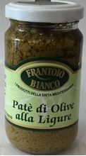 Picture of frantoio bianco green olives pate' gr 180