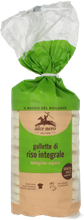 Picture of alce nero whole rice crackers bio gr 100