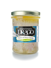 Picture of drago swordfish fillets in olive oil gr 200