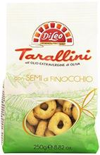 Picture of di leo tarallini with fennel seeds gr 250