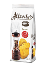 Picture of amica chips alfredo's pepper chips gr 150