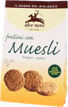 Picture of alce nero muesli biscuits bio gr 250