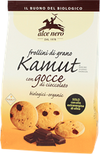 Picture of alce nero kamut biscuits chocolate chips bio gr 300