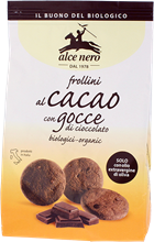 Picture of alce nero Organic Kamut Khorasan wheat biscuits with chocolate chips 300 g