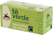 Picture of alce nero green tea bio 20 filters gr 35
