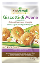 Picture of PROBIOS BIO OAT AND HAZELNUT BISCUITS 250 GR