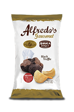 Picture of alfredo's chips black truffle gr 100